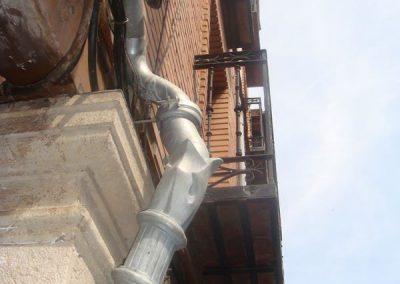 Bajante Detalle Superior Lateral