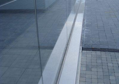 Barandilla acero y cristal (foto 4)