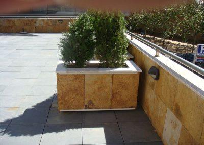 Jardineras Forradas de Piedra (1)