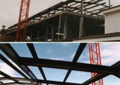Estructura edificio Meco