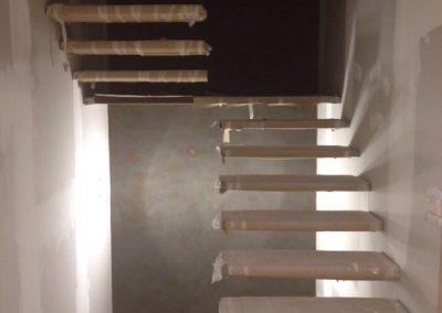 Escalera Acero Corten (Montaje)