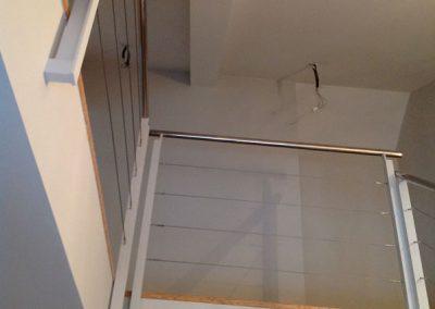 Barandilla Cables de Acero (Vista desde abajo)