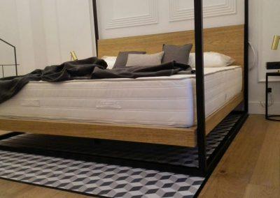 Detalle del dosel de cama