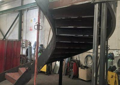 Escalera helicoidal 4