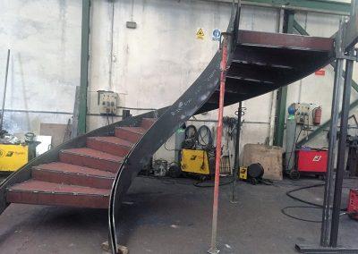 Escalera helicoidal 6